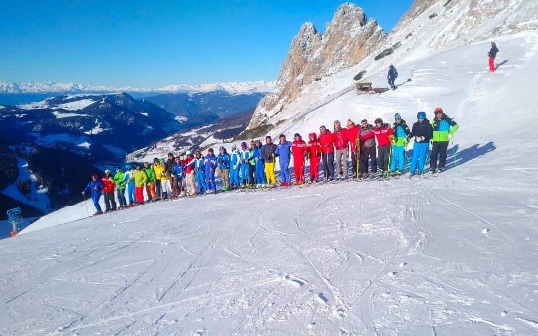 Corsi aggiornamento maestri di sci 2018/2019: una stagione di prime volte