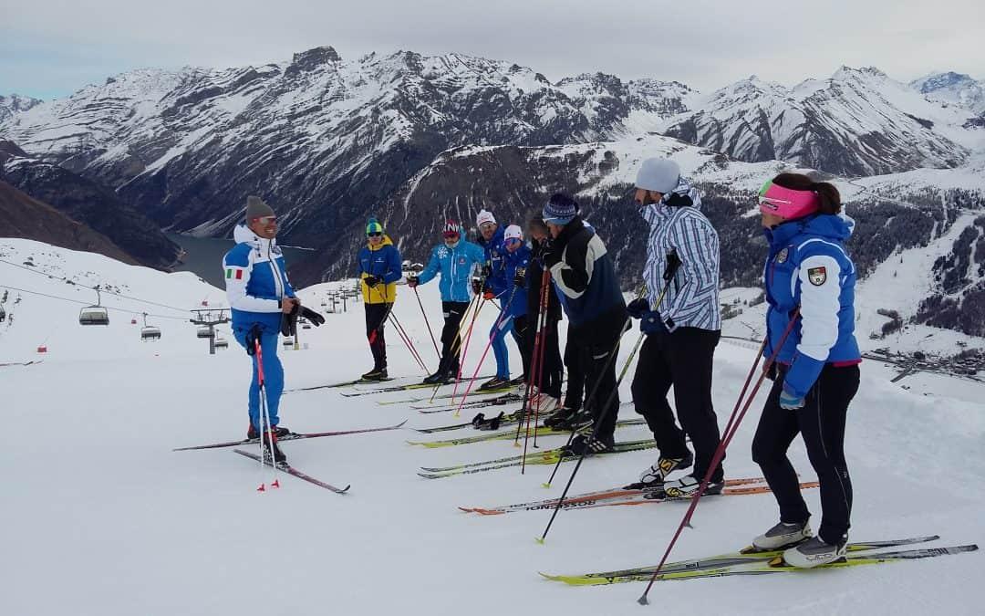 Corso aggiornamento maestri di sci di fondo 2018/2019
