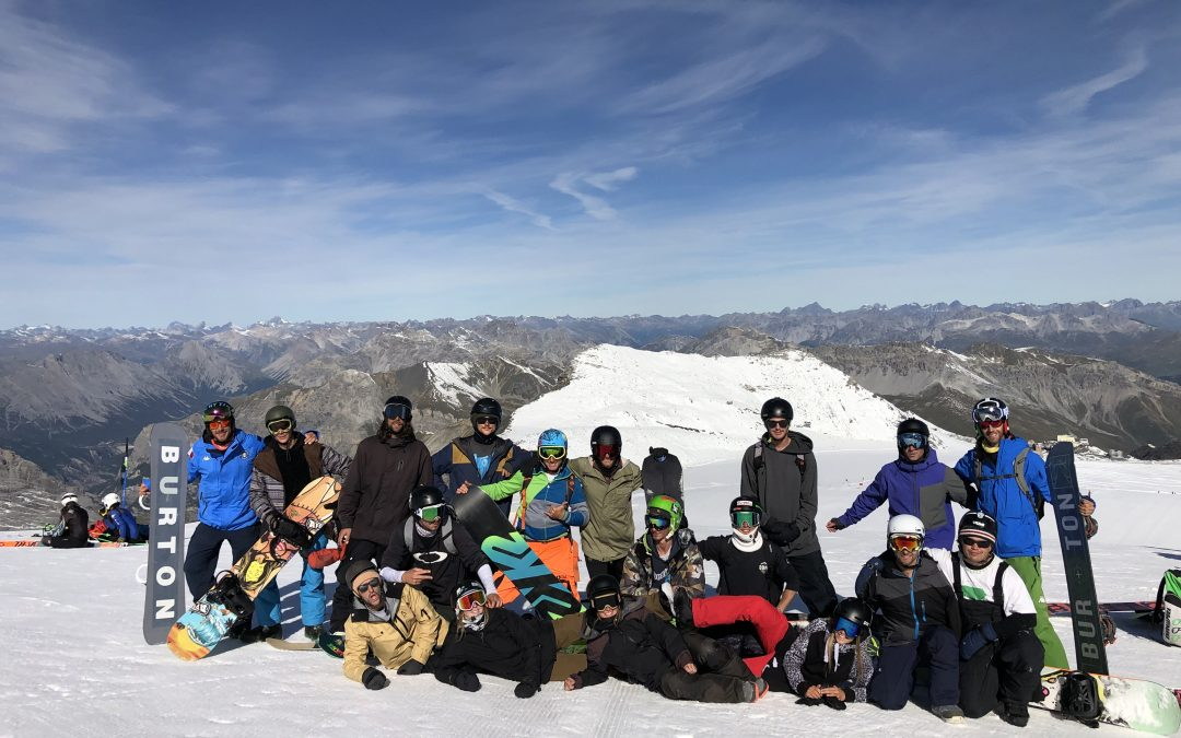Corso Maestri di Snowboard 2019/2020, a settembre una nuova partenza